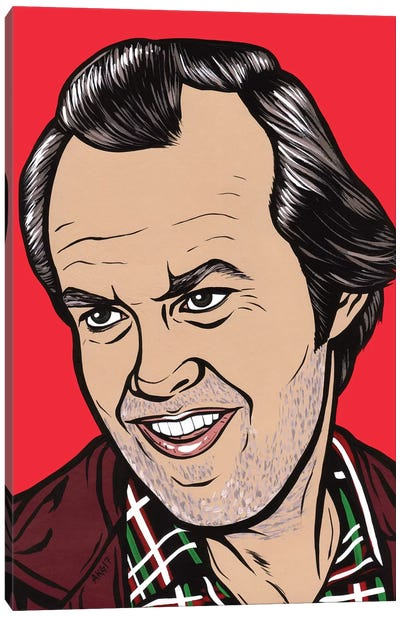 Jack Torrance Canvas Art Print