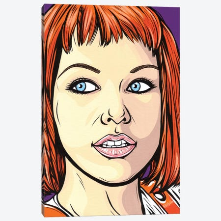 Leeloo Canvas Print #AGU35} by Allyson Gutchell Art Print