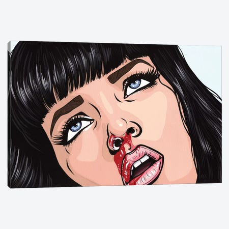 Mia Wallace Canvas Print #AGU43} by Allyson Gutchell Canvas Print