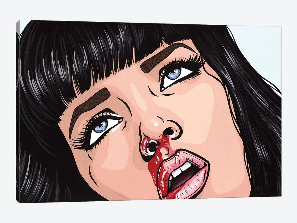 Mia Wallace by Allyson Gutchell 1-piece Canvas Art