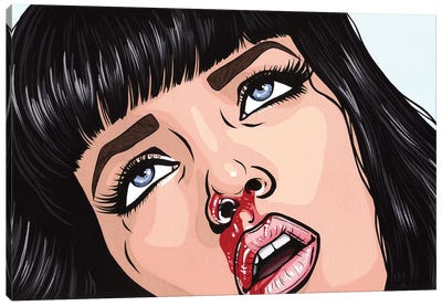 Mia Wallace Canvas Art Print
