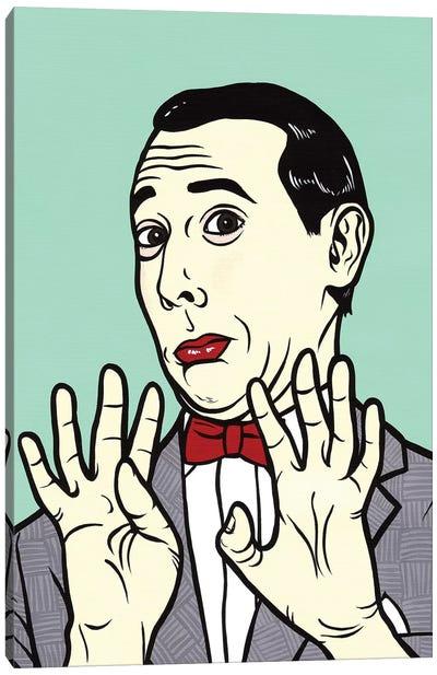 Pee Wee Herman Canvas Art Print