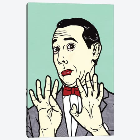 Pee Wee Herman Canvas Print #AGU50} by Allyson Gutchell Canvas Art