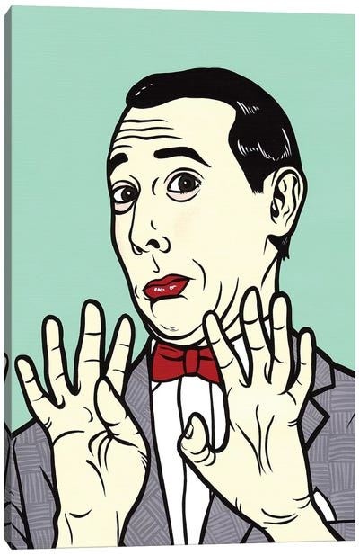 Pee Wee Herman Canvas Art Print
