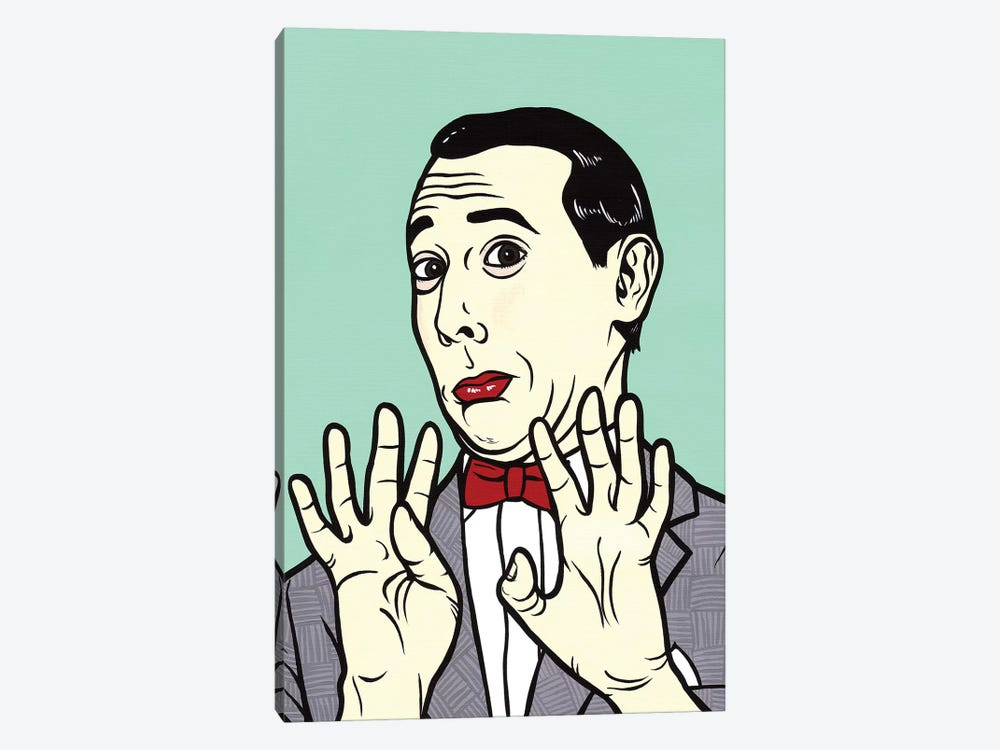 Pee Wee Herman by Allyson Gutchell 1-piece Canvas Artwork