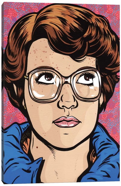 Barb Canvas Art Print