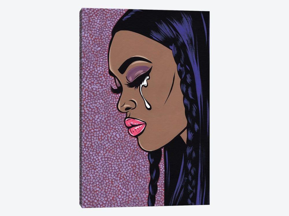 Sad Comic Girl I by Allyson Gutchell 1-piece Canvas Art