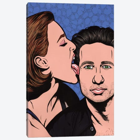 Scully And Mulder 3-Piece Canvas #AGU65} by Allyson Gutchell Canvas Wall Art