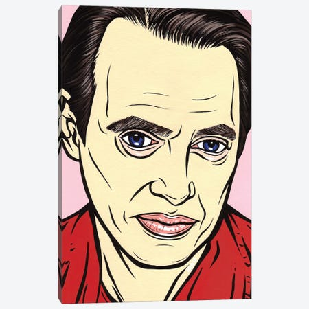 Steve Buscemi Canvas Print #AGU67} by Allyson Gutchell Canvas Art