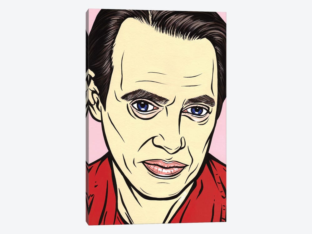 Steve Buscemi by Allyson Gutchell 1-piece Canvas Artwork