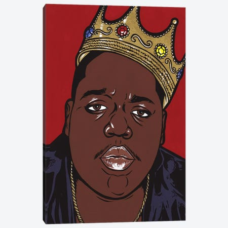 Biggie Canvas Print #AGU6} by Allyson Gutchell Canvas Wall Art