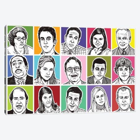 The Office Canvas Print #AGU71} by Allyson Gutchell Canvas Artwork