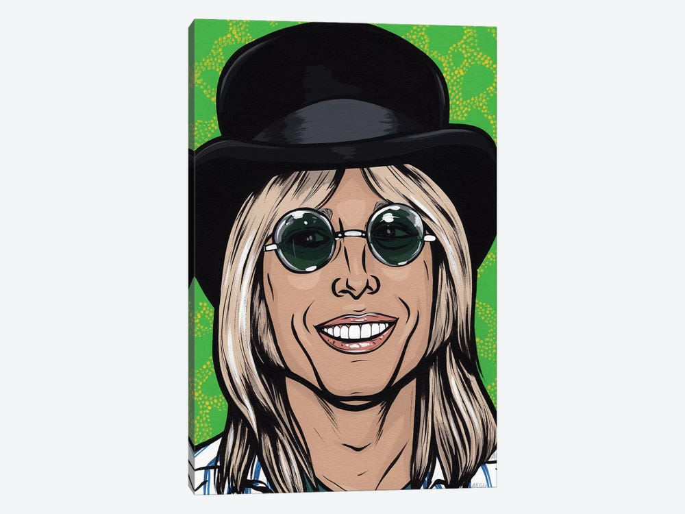 Tom Petty by Allyson Gutchell 1-piece Canvas Artwork