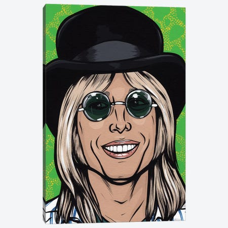 Tom Petty Canvas Print #AGU74} by Allyson Gutchell Canvas Print