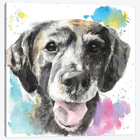 Senior Best Friend Canvas Print #AGY112} by Allison Gray Canvas Art Print