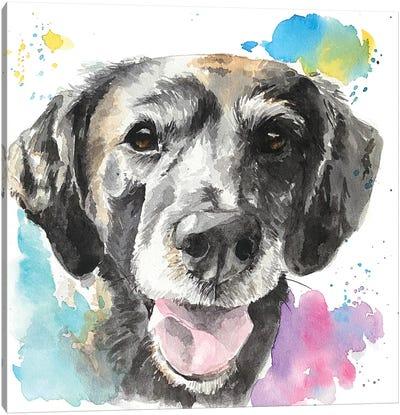 Senior Best Friend Canvas Art Print