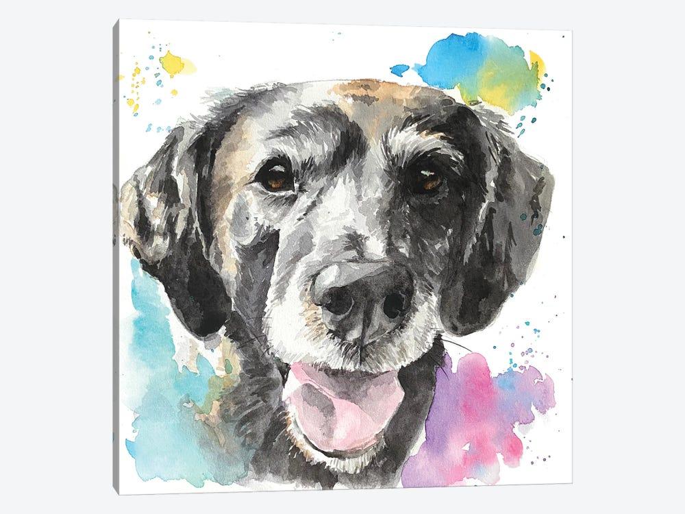 Senior Best Friend by Allison Gray 1-piece Canvas Artwork