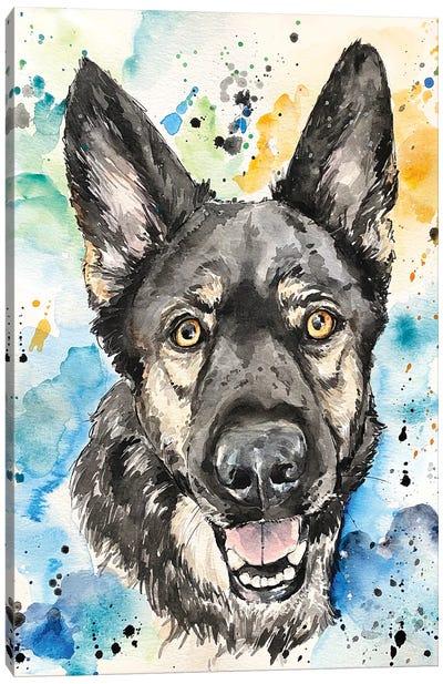 The Shepherd Canvas Art Print
