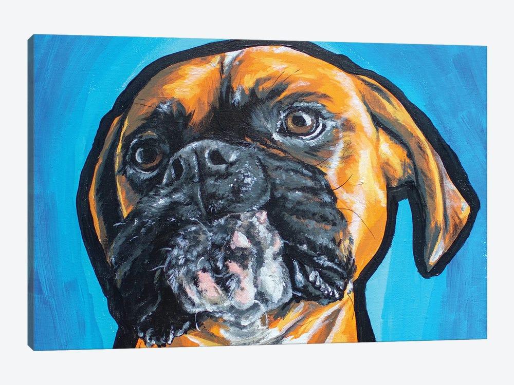 Boxer Acrylic by Allison Gray 1-piece Canvas Wall Art