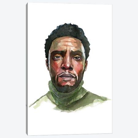 Chadwick Boseman Canvas Print #AGY132} by Allison Gray Canvas Print