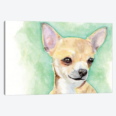 Chihuahua Canvas Print #AGY27} by Allison Gray Canvas Art