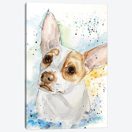 Johnny The Jrt Canvas Print #AGY72} by Allison Gray Canvas Art