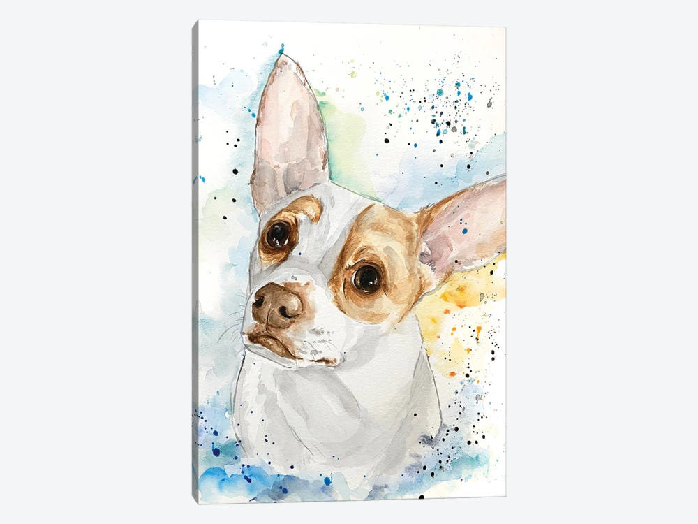 Johnny The Jrt by Allison Gray 1-piece Canvas Artwork