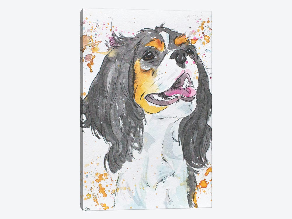 King Charles by Allison Gray 1-piece Canvas Print