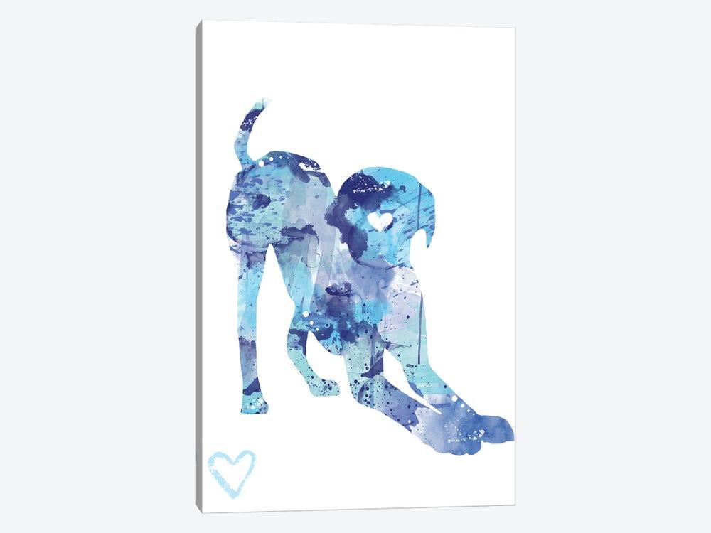 Labrador Retriever Silhouette I by Allison Gray 1-piece Canvas Print