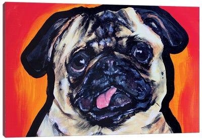 Pug Pop Art Canvas Art Print