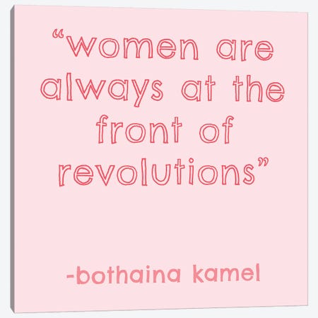 Womxn IV Canvas Print #AHA39} by Anna Hambly Canvas Wall Art