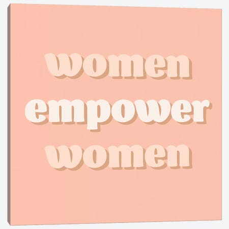 Womxn VI Canvas Print #AHA41} by Anna Hambly Art Print