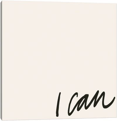 Can Will I Canvas Art Print