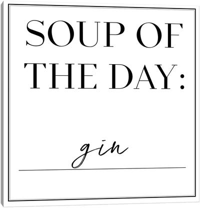 Soup du Jour II Canvas Art Print