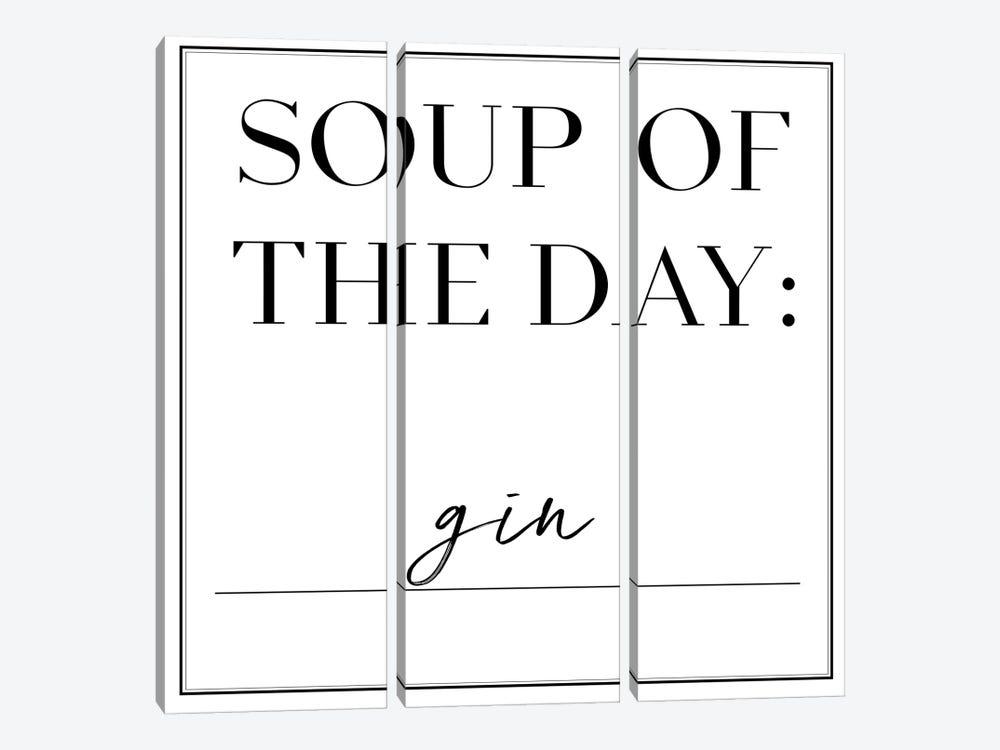 Soup du Jour II by Anna Hambly 3-piece Canvas Art
