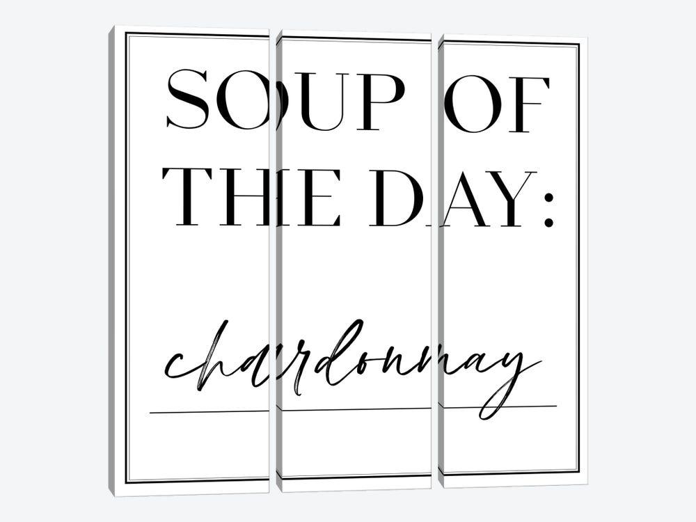 Soup du Jour V by Anna Hambly 3-piece Canvas Art Print