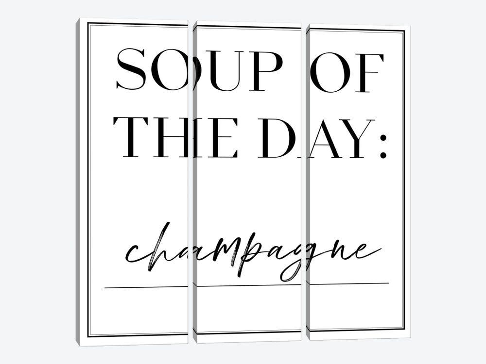 Soup du Jour VI by Anna Hambly 3-piece Canvas Artwork