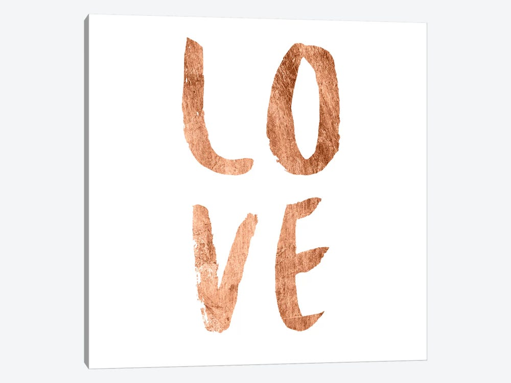 Love Quotes III by Anna Hambly 1-piece Canvas Art