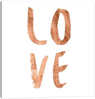Love Quotes III Canvas Art Print