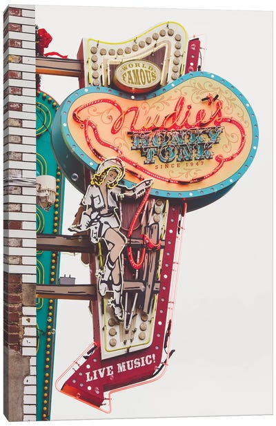 Nashville Neon Iii Canvas Art Print