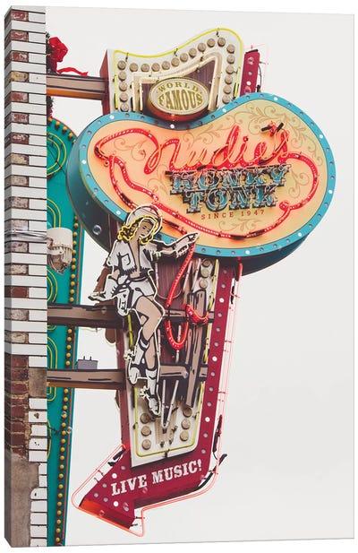 Nashville Neon Iii Canvas Art Print