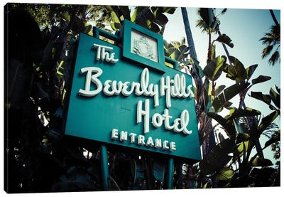 Beverly Hills Hotel II Canvas Art Print