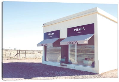 Prada Marfa I Canvas Art Print