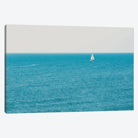 Sail Away Canvas Print #AHD134} by Ann Hudec Canvas Art Print