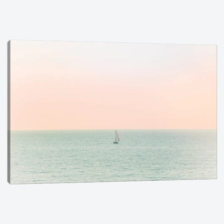 Sky Blush Canvas Print #AHD144} by Ann Hudec Canvas Wall Art