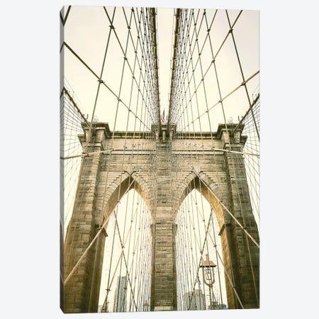 Brooklyn Bridge I Canvas Print #AHD14} by Ann Hudec Canvas Art