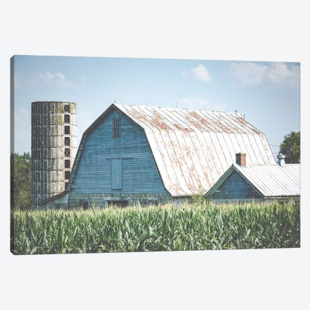 Summer On The Farm Canvas Print #AHD155} by Ann Hudec Canvas Print