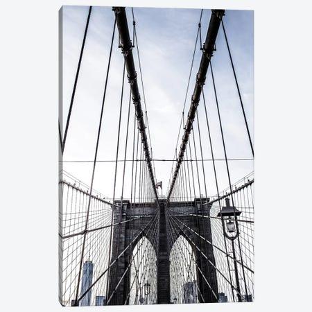 Brooklyn Bridge II Canvas Print #AHD15} by Ann Hudec Canvas Artwork
