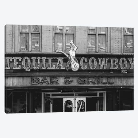 Tequila Cowboy Canvas Print #AHD160} by Ann Hudec Art Print
