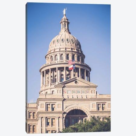 Texas State Capitol Canvas Print #AHD163} by Ann Hudec Canvas Art Print